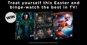 Win Arrow, Gotham and The Flash DVDs with our competition!