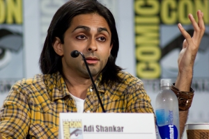 "Adi Shankar on his ""superhero movie for Dredd fans"""