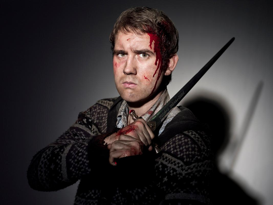 Lewis as Neville Longbottom (the Harry Potter series), badass wizard and inspiration to all