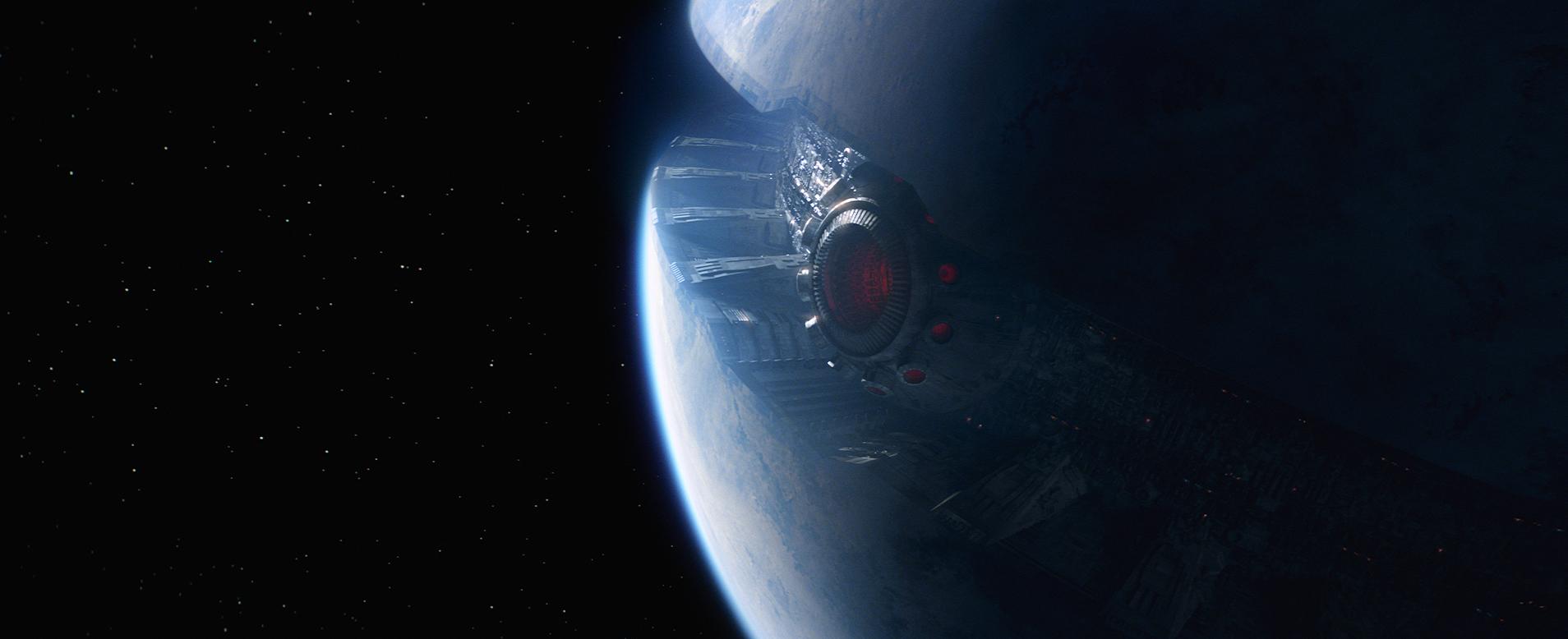 Star Wars: The Force Awakens..Starkiller Base..Ph: Film Frame..© 2014 Lucasfilm Ltd. & TM. All Right Reserved..