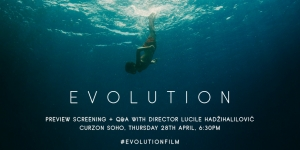 Win tickets to Evolution Q&A at Curzon Soho