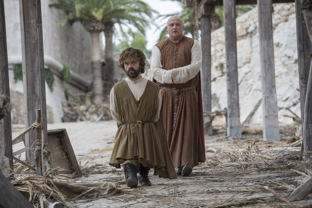 Dinklage, Peter;Hill, Conleth  as Tyrion Lannister;Varys