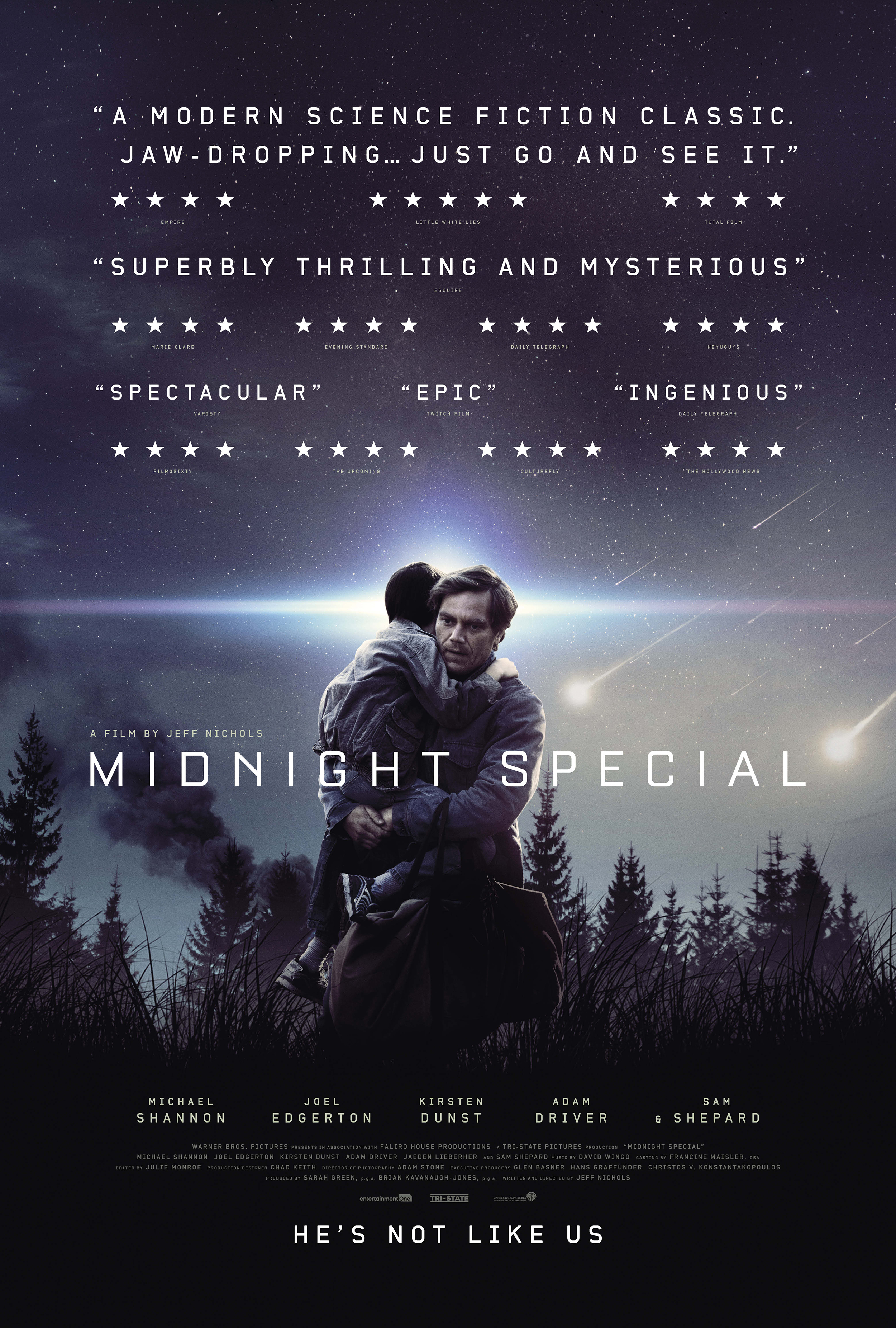 Midnight Special film review: Starman meets ET