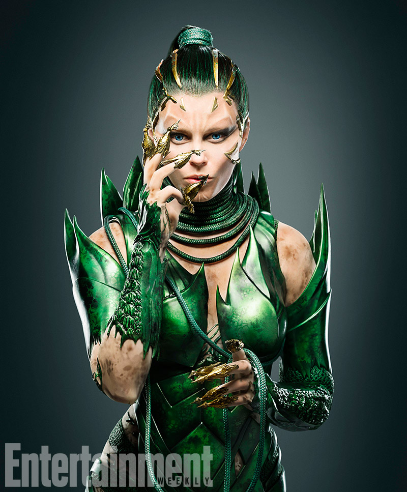 POWER RANGERS FIRST LOOK AT ELIZABETH BANKS' VILLAIN IS LOOKING SHARP