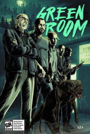 Green Room new posters may contain violence and Patrick Stewart