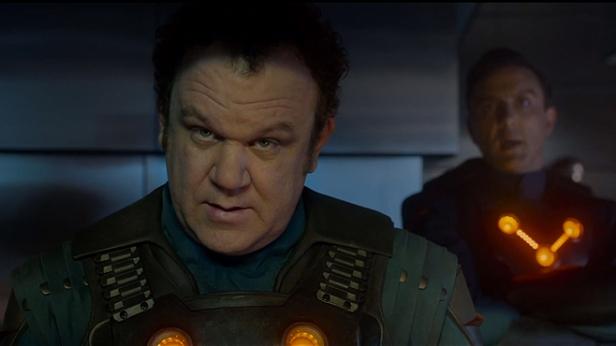 John C Reilly as Corpsman Dey
