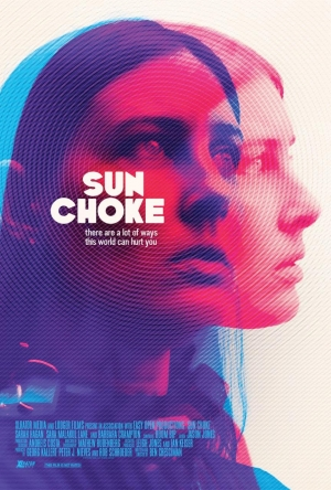 Sun Choke new poster for Sarah Hagan horror is gorgeous