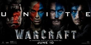 Warcraft new banner poster unites orcs, humans and more