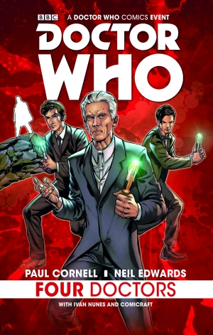 Win a copy of Doctor Who: Four Doctors