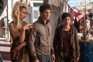 Battle Angel movie casts Scorch Trials star