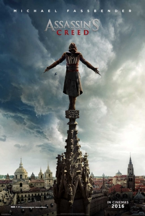 Assassin's Creed movie poster definitely isn't scared of heights
