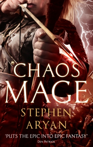 Chaosmage by Stephen Aryan exclusive cover reveal
