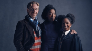 Harry Potter and the Cursed Child first look at the Granger-Weasleys