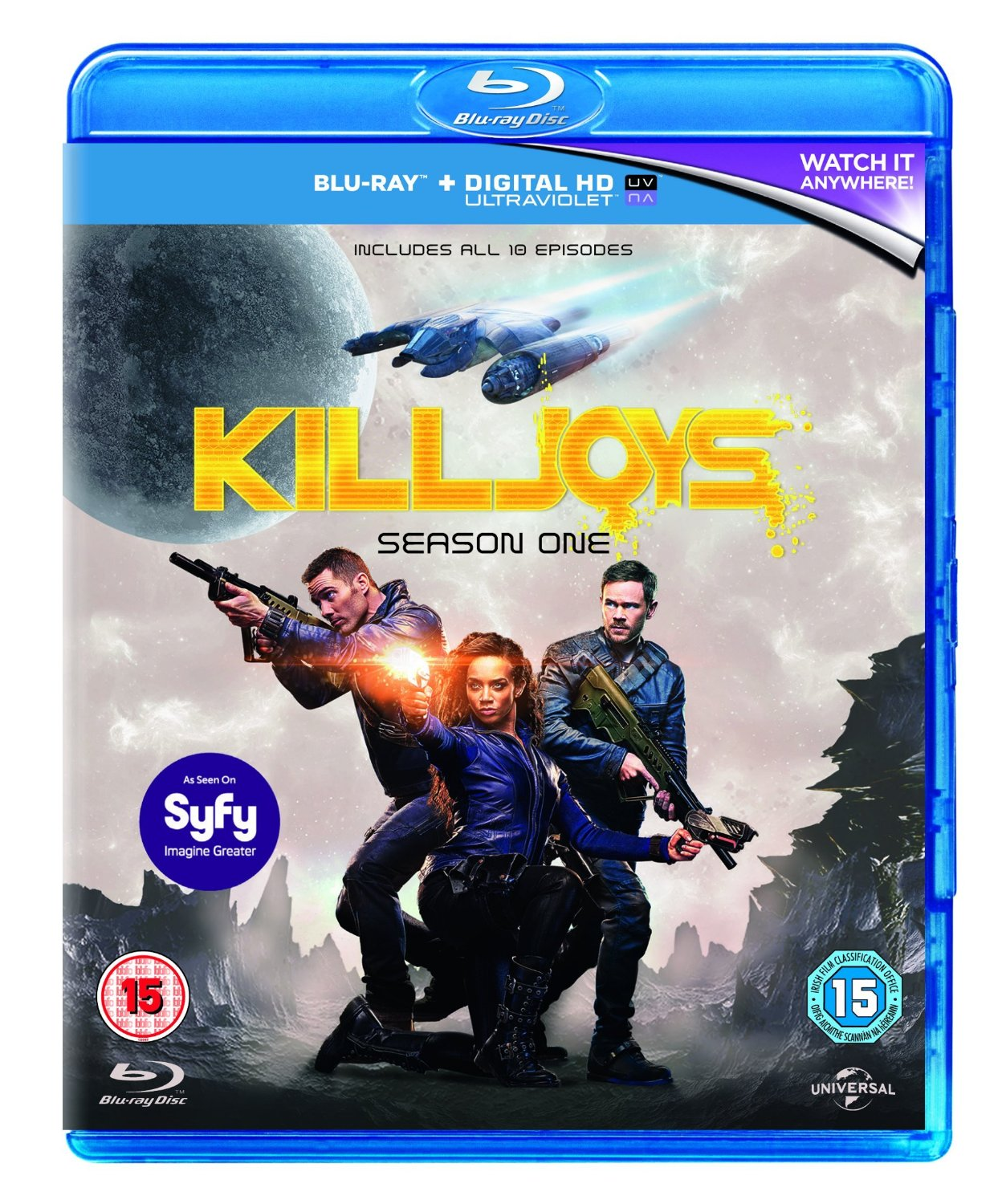 Killjoys Season 1 Blu-ray review