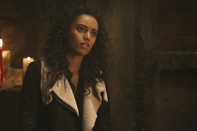 """The Originals -- """"The Devil is Damned"""" -- Image Number: OR213a_0113.jpg -- Pictured: Maisie Richardson-Sellers as Rebekah -- Photo: Quantrell Colbert/The CW -- © 2015 The CW Network, LLC. All rights reserved."""