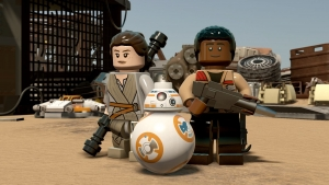 Win Lego Star Wars: The Force Awakens and a PS4!