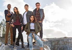 Power Rangers movie poster reveals bright new hopes