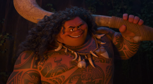 Moana first teaser trailer introduces Maui and his magical fish hook
