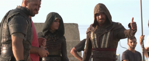 Assassin's Creed featurette shows Michael Fassbender who he really is
