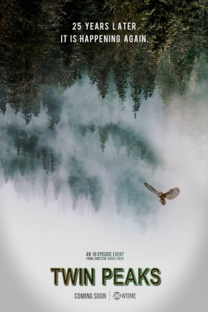 Twin Peaks Season 3 poster goes back to the woods