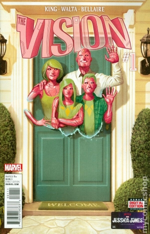 Vision Volume 1 by Tom King graphic novel review