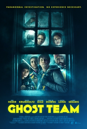 Ghost Team new poster doesn't have paranormal experience