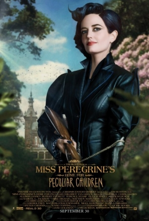 Miss Peregrine's Home For Peculiar Children assembles its posters
