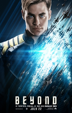 Star Trek Beyond posters showcase the entire team