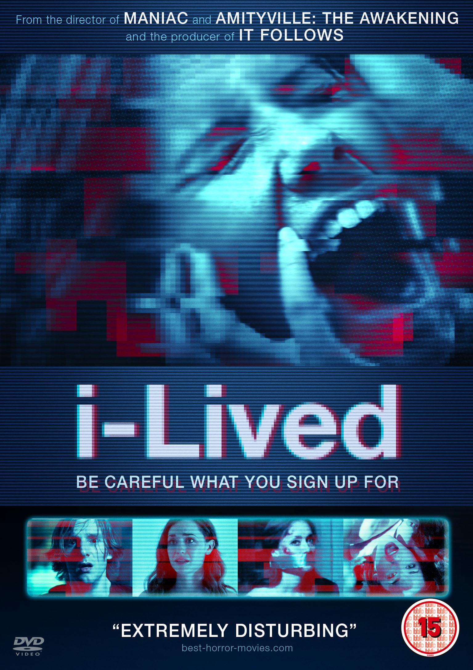 i-lived DVD review: App-based horror from Maniac director