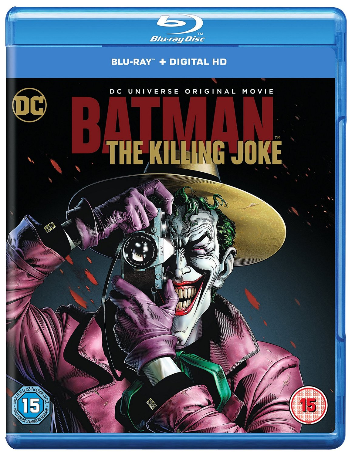 Batman The Killing Joke Blu-ray review