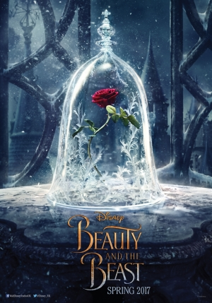 Beauty And The Beast poster looks nice and rosey