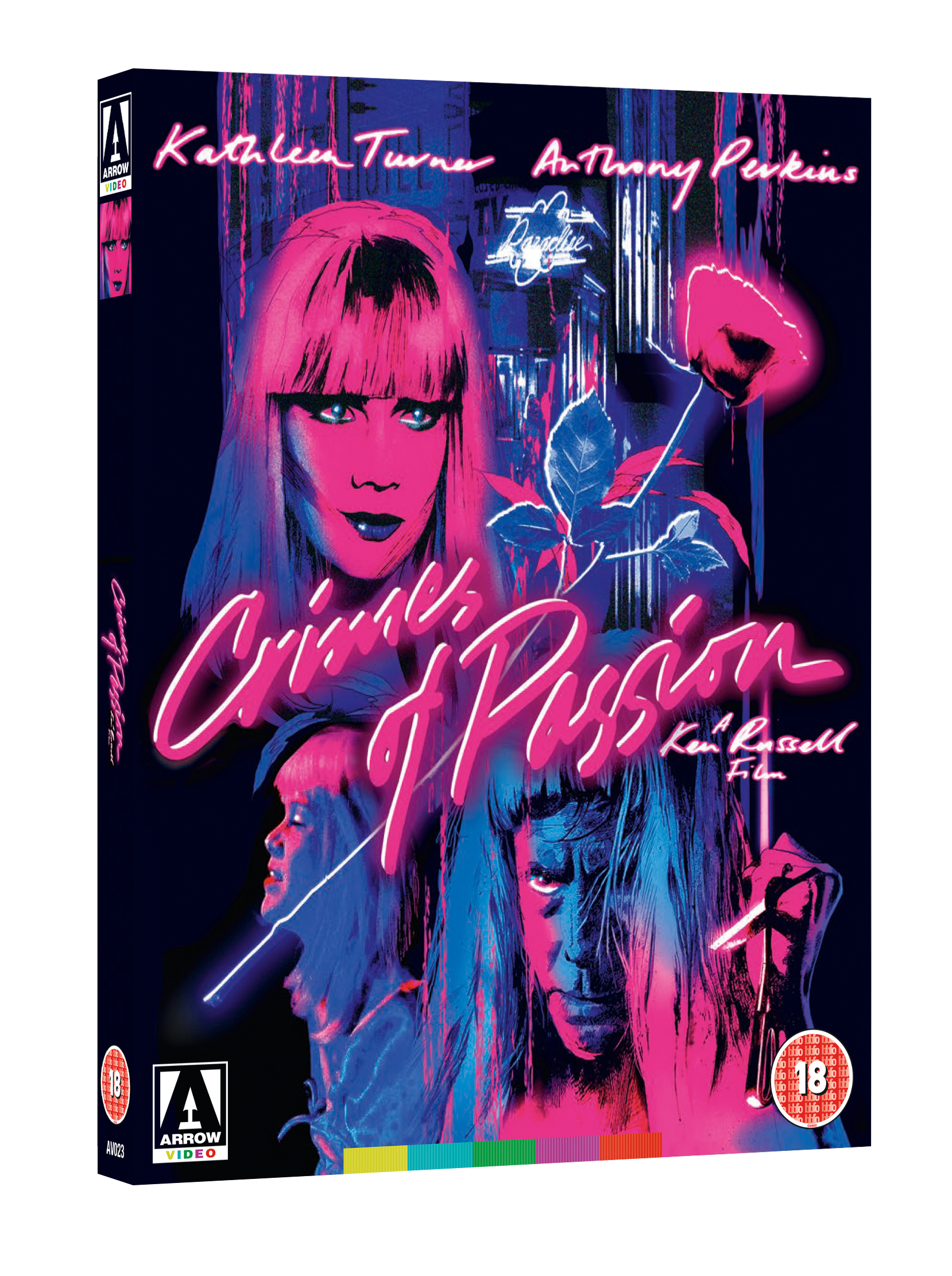 Crimes Of Passion Blu-ray review: A Psycho-sexual black comedy
