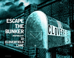 Escape The Bunker with 10 Cloverfield Lane! Competition inside!