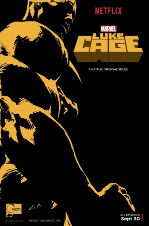 Luke Cage Comic Con poster flexes its muscles