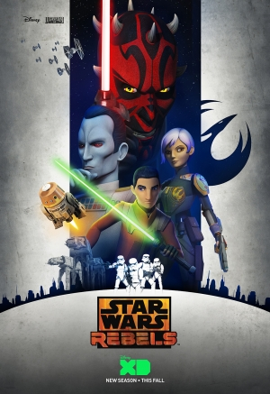 Star Wars Rebels Season 3 poster unveils a new threat