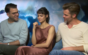 Star Trek Beyond: Chris Pine, Zachary Quinto & Sofia Boutella talk Space, the Final Frontier