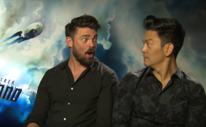 Star Trek Beyond: Karl Urban & John Cho on Bones, Sulu and Hogwarts