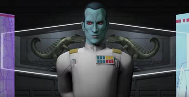Star Wars Rebels Season 3 Grand Admiral Thrawn