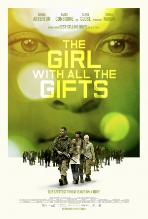 Girl With All The Gifts poster looms large