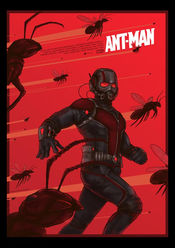 Berkay's Ant-Man poster