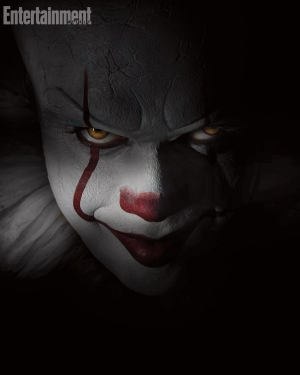 Stephen King's It remake first look at Pennywise the clown
