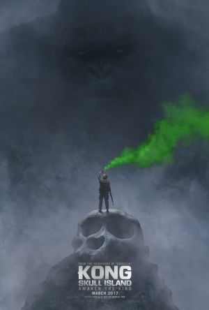 Kong Skull Island poster heads into the unknown