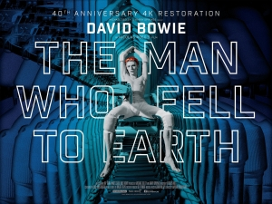 The Man Who Fell To Earth restoration new posters are breathtaking