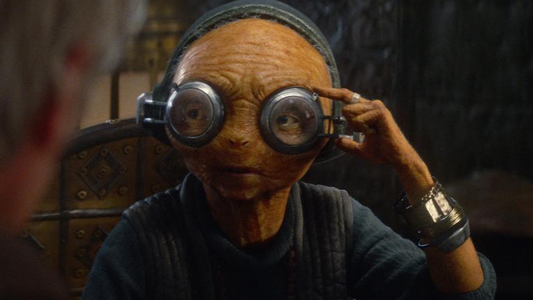 Star Wars: The Force Awakens Maz Kanata (Lupita Nyong'o) Ph: Film Frame © 2014 Lucasfilm Ltd. & TM. All Right Reserved..