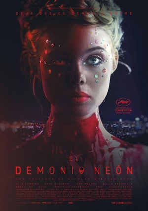 The Neon Demon international poster lets the devil in