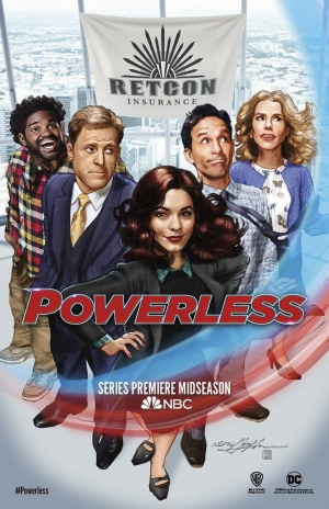 Powerless Season 1 new poster will get you in the mood