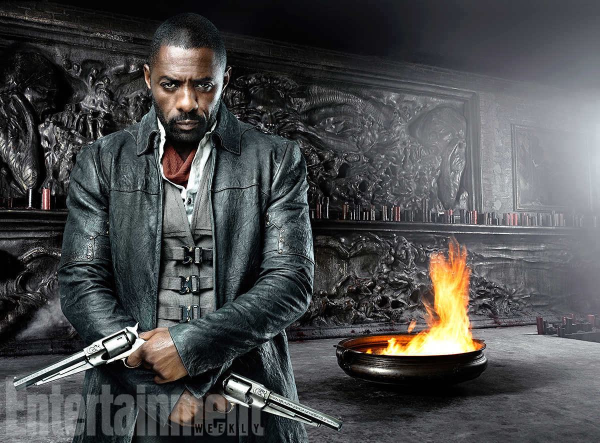 the dark tower first look at idris elba and matthew