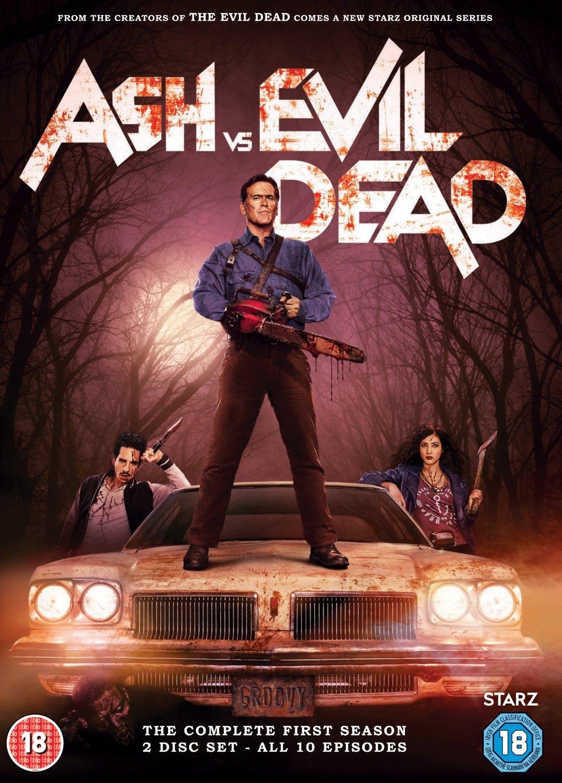 Ash Vs Evil Dead Season 1 DVD review