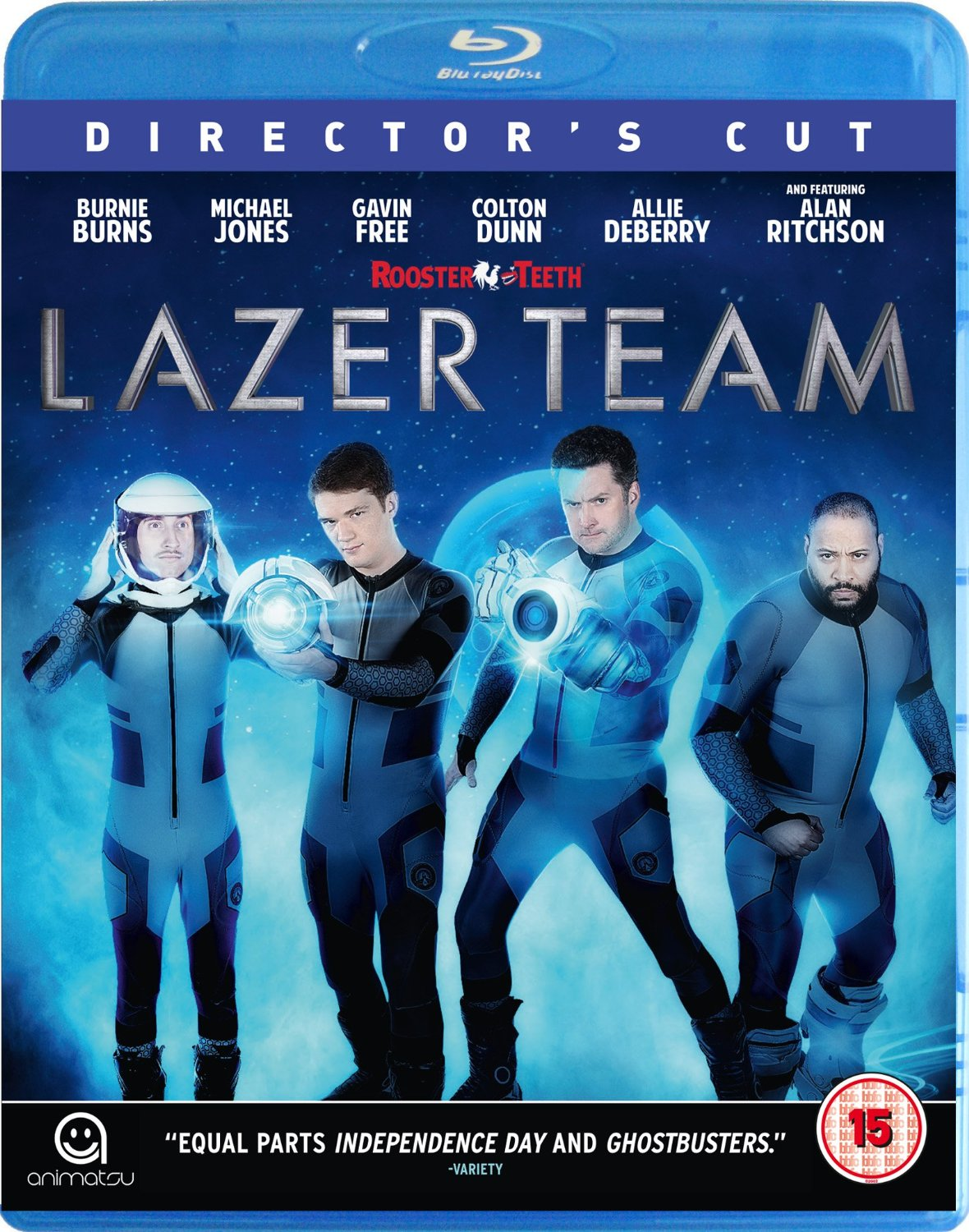 Lazer Team Blu-ray review: Earth's amatuer heroes