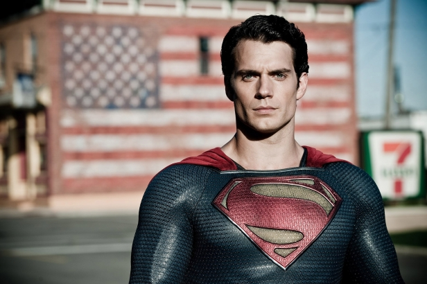 "EXCLUSIVE TO USA TODAY Henry Cavill in a scene from the motion picture ""Man of Steel."" Credit: Clay Enos,  Warner Bros. Pictures [Via MerlinFTP Drop]"